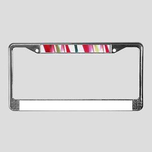Retro Twists License Plate Frame