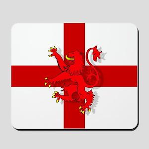English Lion Flag Mousepad