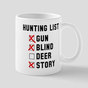 Hunting List Mug