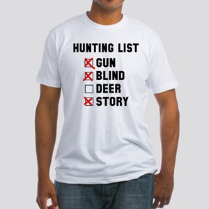 Hunting List Fitted T-Shirt