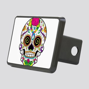 Curly Eyes Sugar Skull Hitch Cover