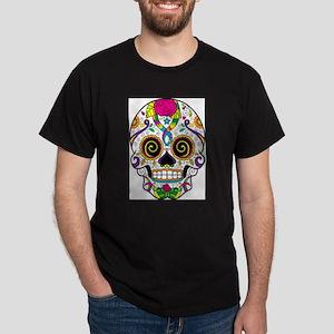 Curly Eyes Sugar Skull T-Shirt