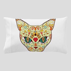 Kitty Sugar Skull Pillow Case