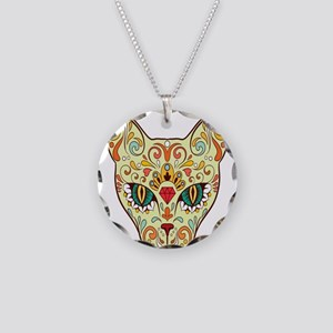 Kitty Sugar Skull Necklace