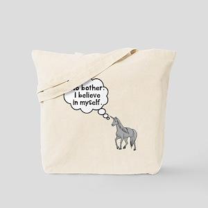 Unicorn I believe in myself Tote Bag