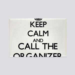 Keep calm and call the Organizer Magnets
