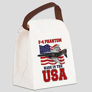 F-4 Phantom Canvas Lunch Bag