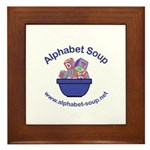 Alphabet Soup Framed Tile