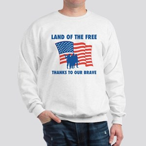 Thanks To Our Brave Sweatshirt