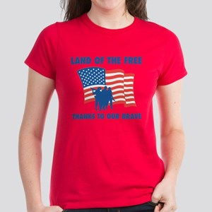 Thanks To Our Brave Women's Dark T-Shirt