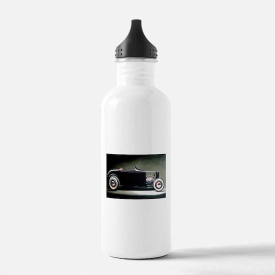 Funny Rat rods Water Bottle