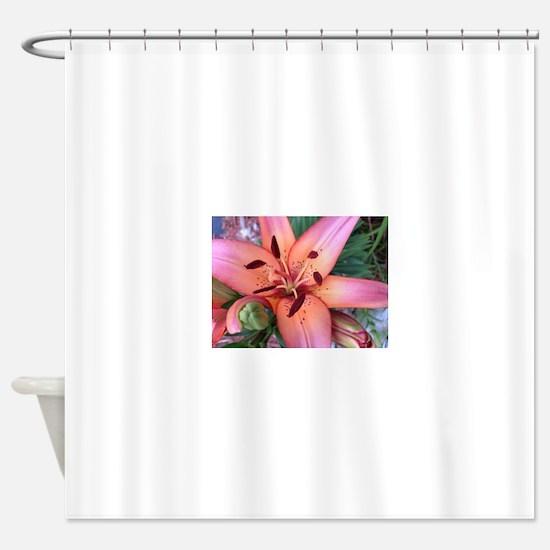 Lillies Shower Curtain