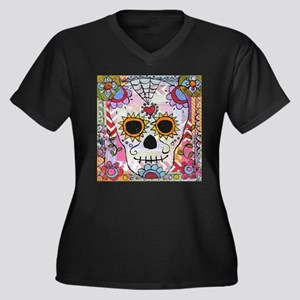 day of the dead 1 Plus Size T-Shirt