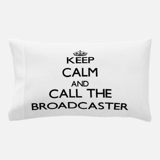 Unique Broadcasting Pillow Case