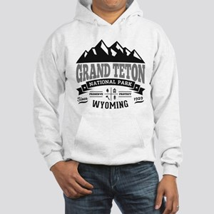Grand Teton Vintage Hooded Sweatshirt