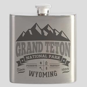 Grand Teton Vintage Flask