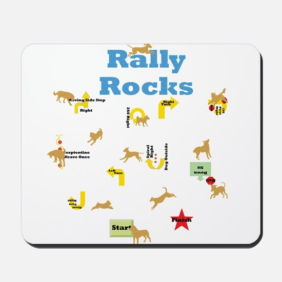 Rally 4 Mousepad