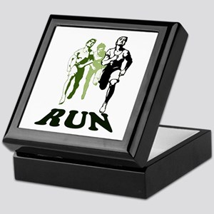 Run Keepsake Box