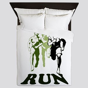 Run Queen Duvet