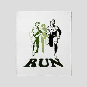 Run Throw Blanket