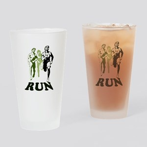 Run Drinking Glass