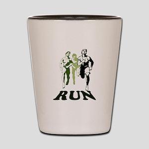 Run Shot Glass
