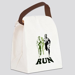 Run Canvas Lunch Bag