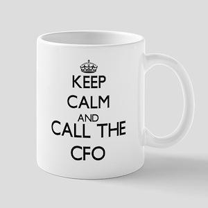 Keep calm and call the Cfo Mugs