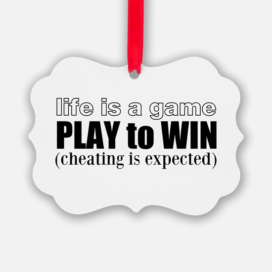 Play To Win Ornament