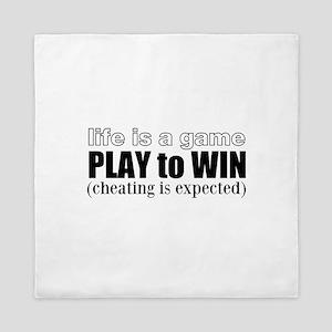 Play To Win Queen Duvet