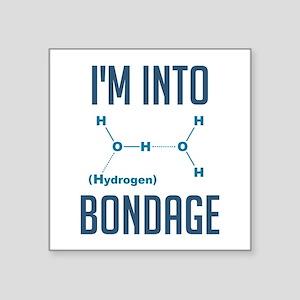 I'm into Hydrogen Bondage Sticker
