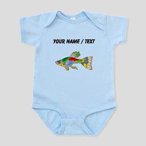 Custom Colorful Guppy Fish Body Suit