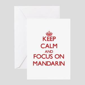 Mandarin language greeting cards cafepress keep calm and focus on mandarin greeting cards m4hsunfo