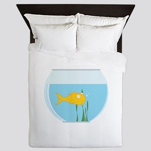 Fish Bowl Queen Duvet