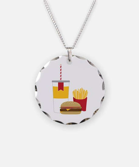 Fast Food Necklace