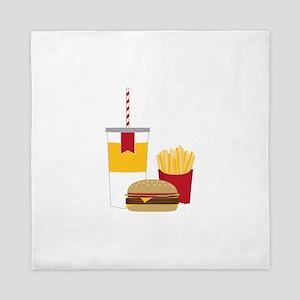 Fast Food Queen Duvet