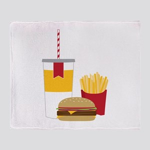 Fast Food Throw Blanket