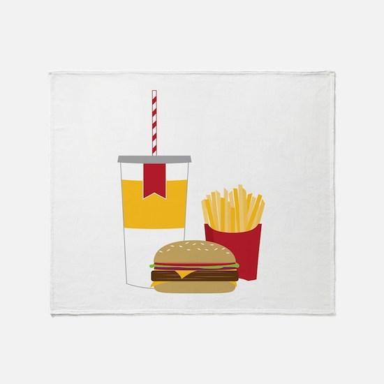 Fast Food Throw Blanket