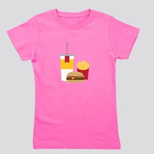 Fast Food Girl's Tee