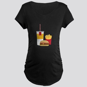 Fast Food Maternity T-Shirt