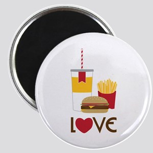 Love Fast Food Magnets