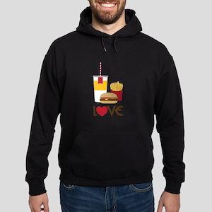 Love Fast Food Hoodie