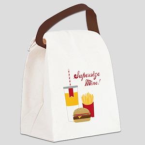 Supersize Mine! Canvas Lunch Bag