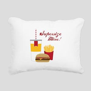 Supersize Mine! Rectangular Canvas Pillow