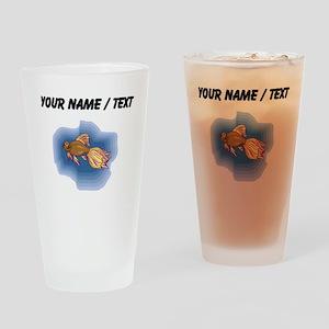 Custom Little Fish Drinking Glass
