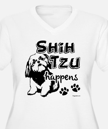 shih tzu happens T-Shirt