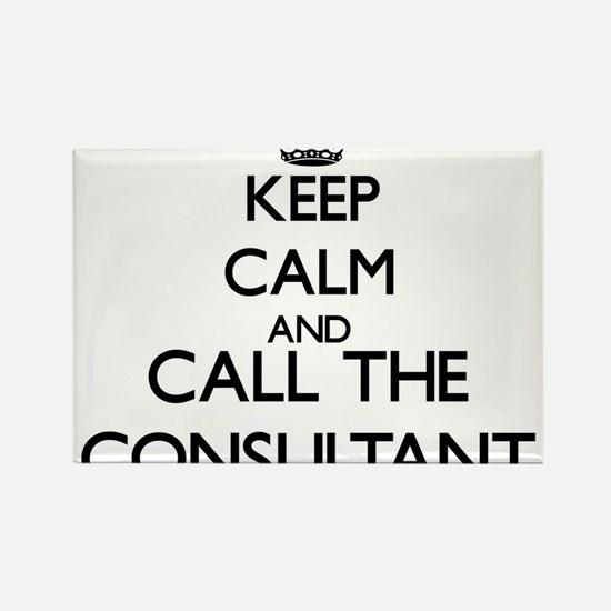 Keep calm and call the Consultant Magnets