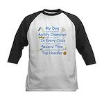 Agility Champion JAMD Kids Baseball Jersey