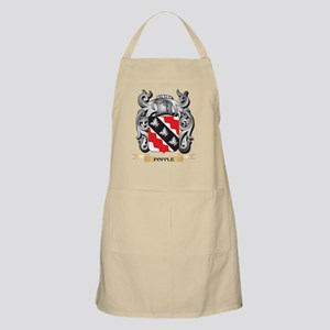 Popple Coat of Arms - Family Crest Light Apron
