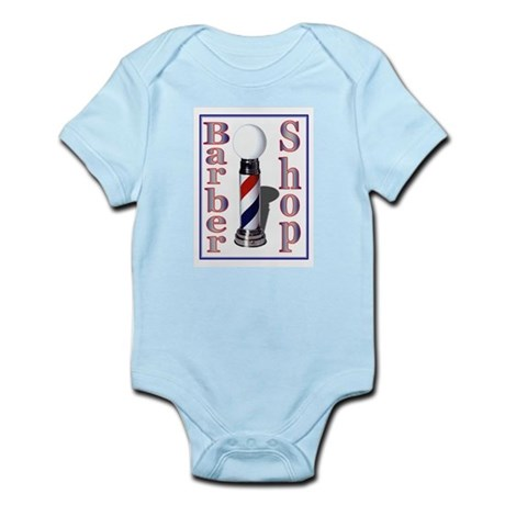Barber Shop Infant Bodysuit